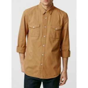New with tags top man button up shirt
